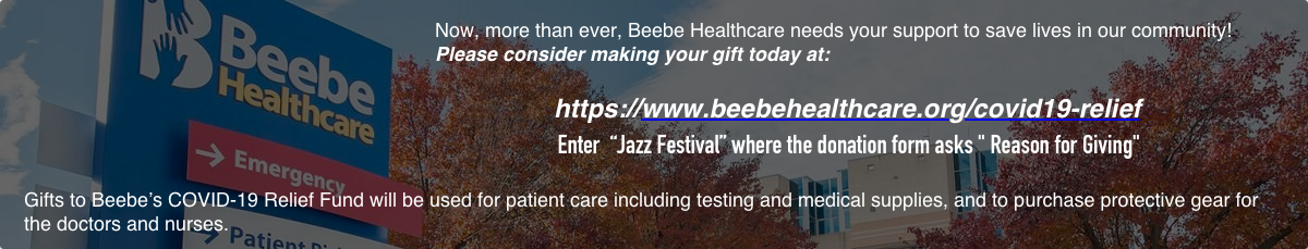 Click here to donate to Beebe's COVAD-19 Relief Fund